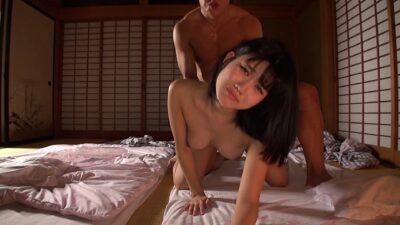 Pics of Nao Jinguji doing SEX in doggy style