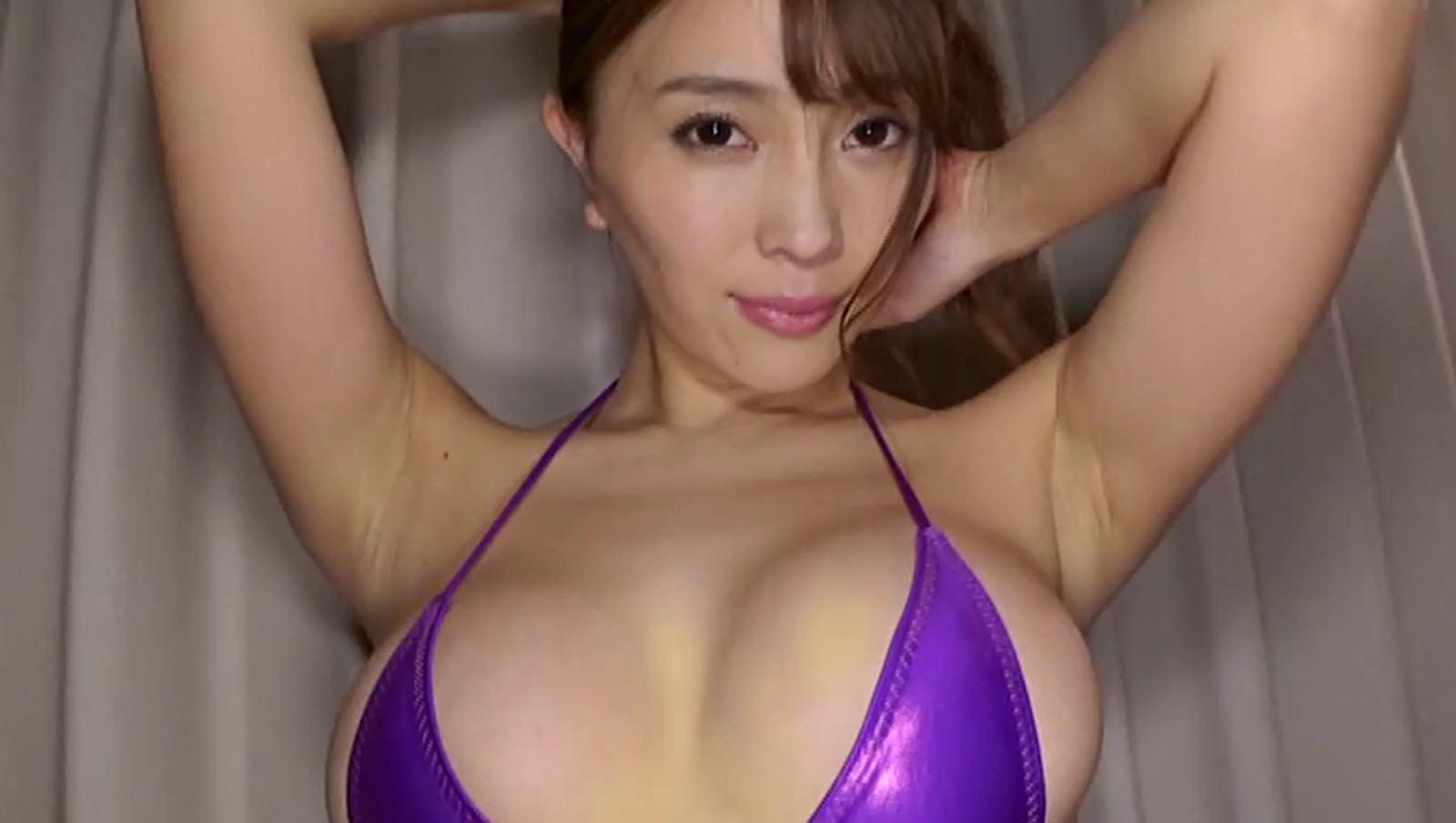 Pics of Tomomi Morisaki wearing a sexy swimsuit