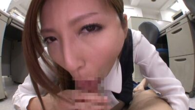 Pics that Japanese pornstar has POV blowjob