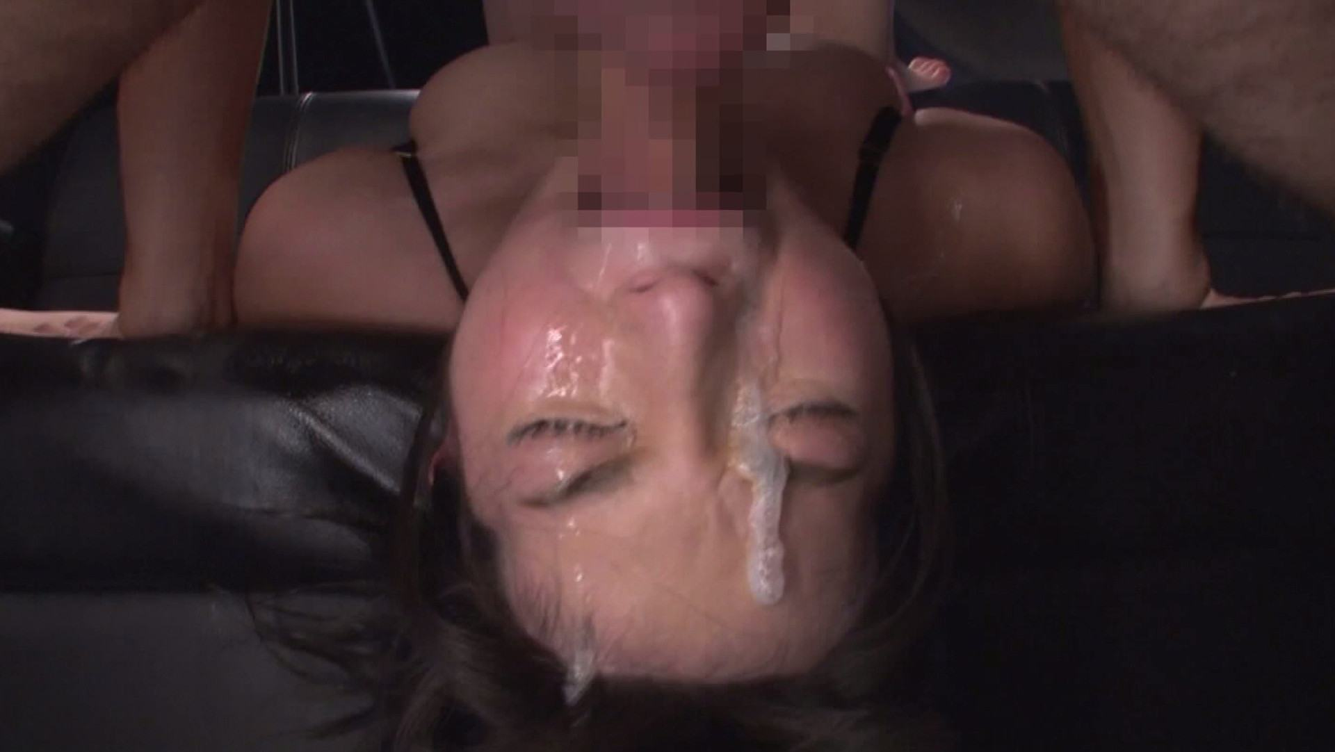 Pics of Japanese girl deep throating and face fucking