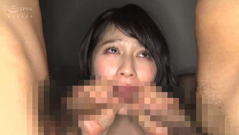 Porn pics of Japanese pornstar Maina Yuri having a blowjob