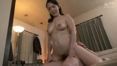 Porn pics of Japanese MILF Mari Kuroki having cowgirl sex