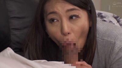 Porn pics of Japanese milf Yuri Tadokoro having a blowjob