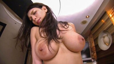 Porn pics that Japanese big tits woman has cowgirl sex