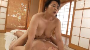 Porn pics of Japanese mature Yoko Ishida having cowgirl sex