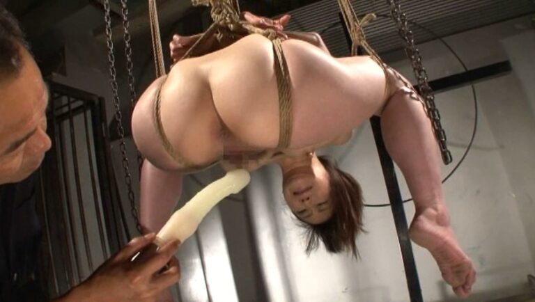 Porn pics of Japanese woman being Shibari