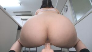 Porn pics of a Japanese girl doing dildo masturbation