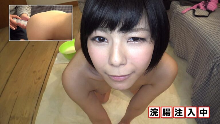 Porn pics of Japanese short-haired girls getting comfortable with dildos
