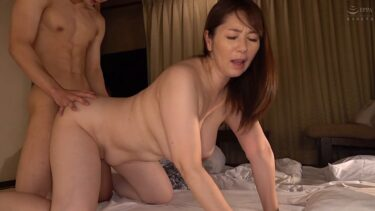 Porn pics of Japanese mature woman Chisato Shoda having doggy style sex