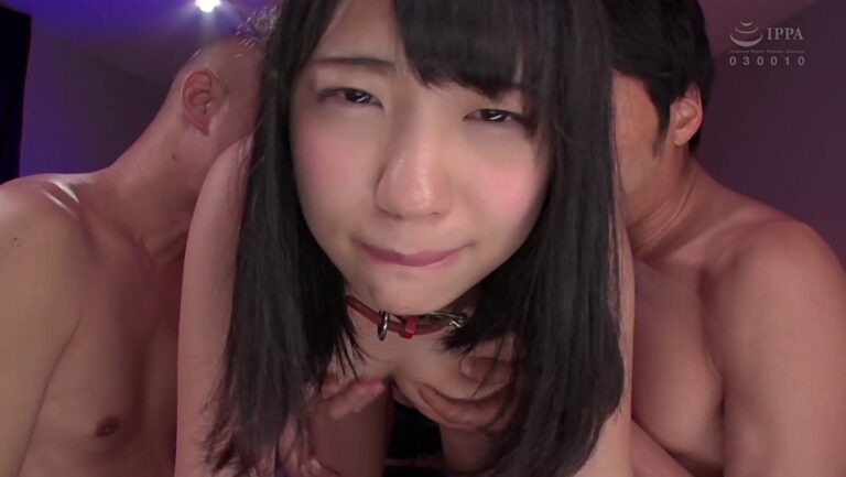 Porn pics of Japanese pornstar Mari Takasugi being rubbed with tits