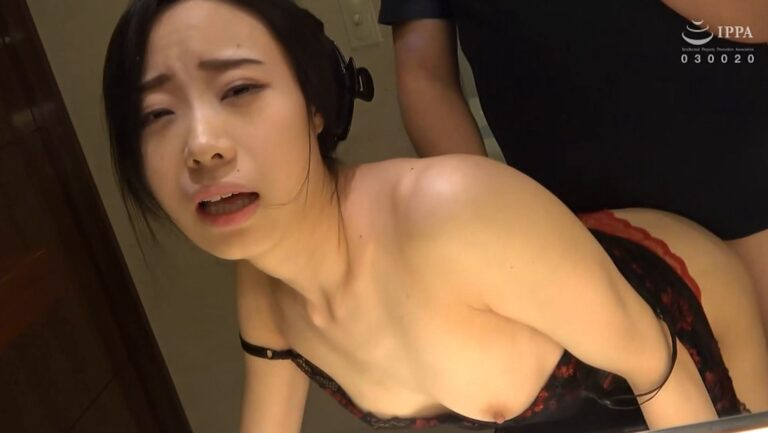 Porn pics of Japanese MILF K-o having sex in standing doggy