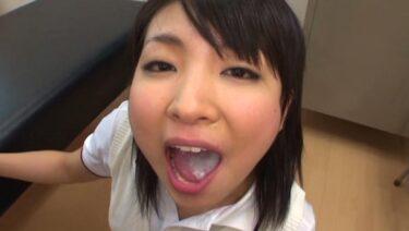 Porn pics of Japanese girl drinking sperm