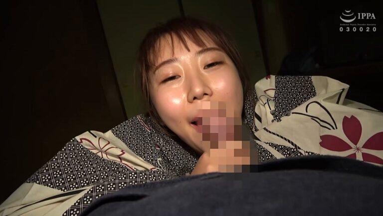 Porn pics of Japanese MILF Nanami giving a blow job